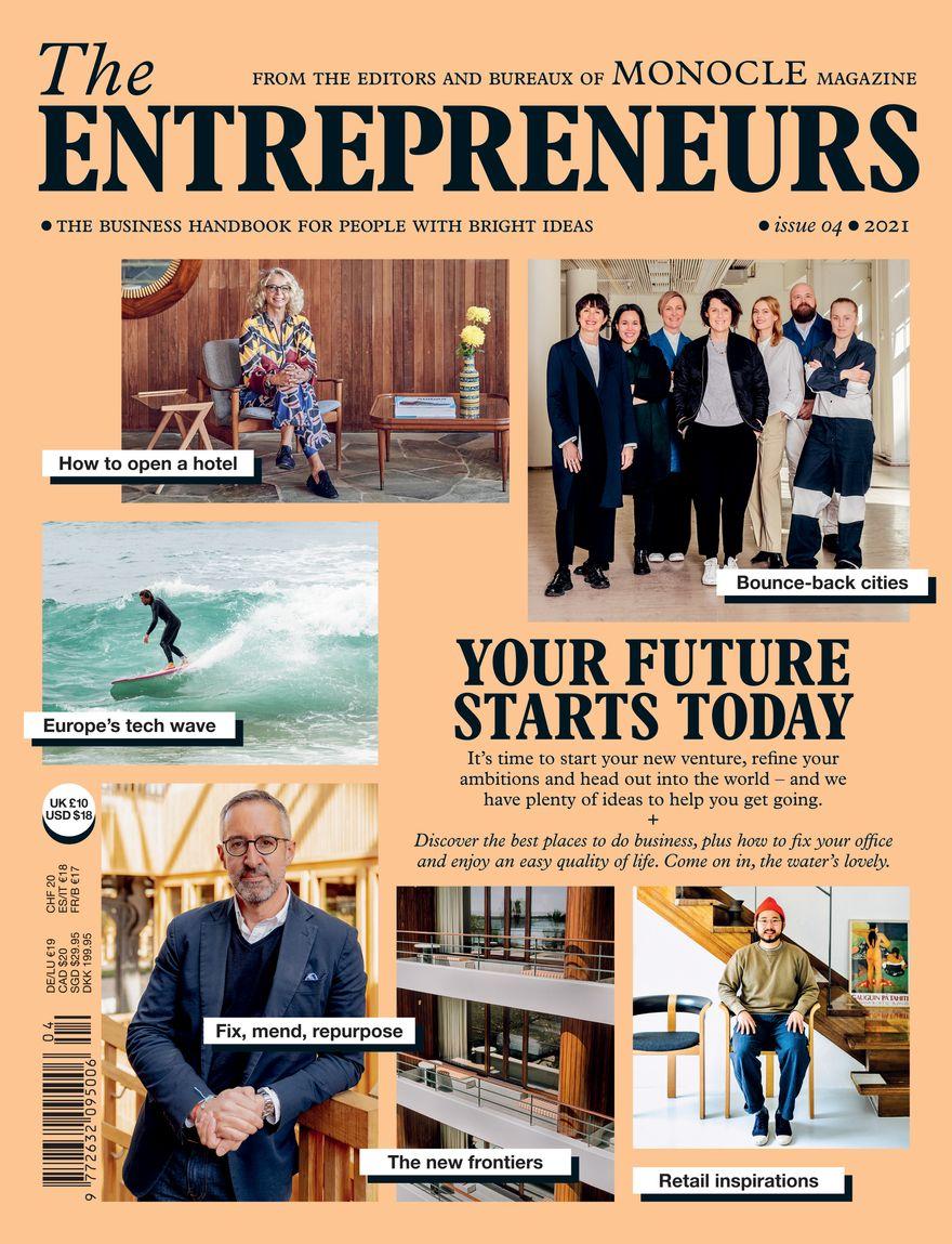 Cover, Entrepreneurs 2021